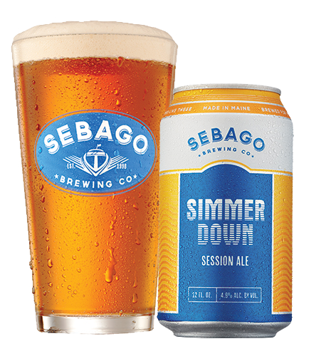 Sebago Brewing Simmer Down