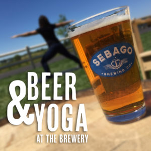 Beer & Yoga at the Brewery