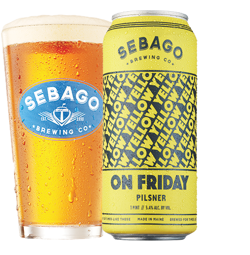 Sebago Brewing Yellow On Friday