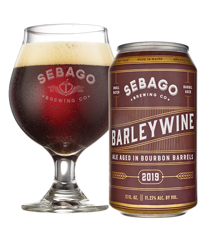 Barley Wine by Sebago Brewing Company