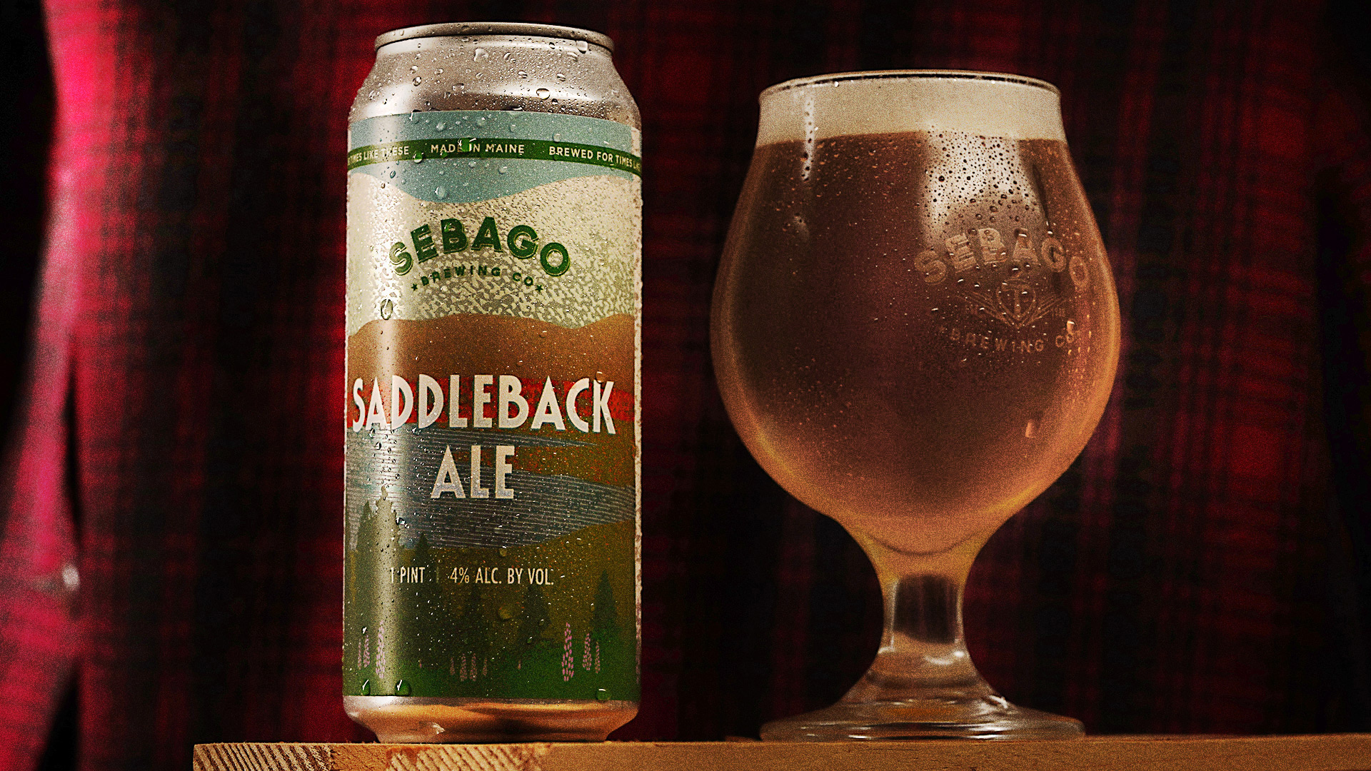 Saddleback Ale Sebago Brewing