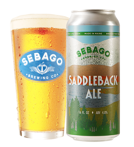 Saddleback Ale Sebago Brewing Co
